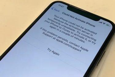 Как активировать айфон 6 после сброса настроек?